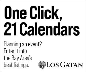 los gatan calendar of events, submit an event, promote, los gatos california
